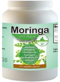 Moringa Capsules 120 Count