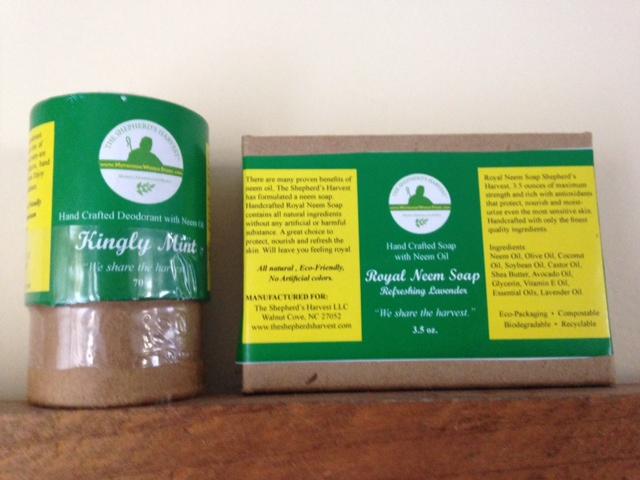 Kingly Mint Deodorant-Royal Neem Soap Combo